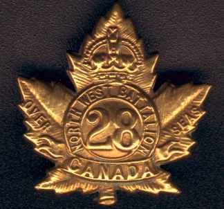 28th Battalion Cap Badge